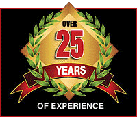 Over 25 Years Of Experience